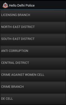Hello Delhi Police apk screenshot