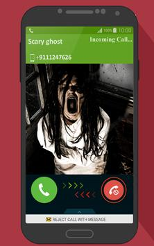 Scary Ghost Fake Call Joke poster