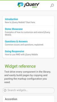 jQuery Mobile 1.3.2 API Docs poster