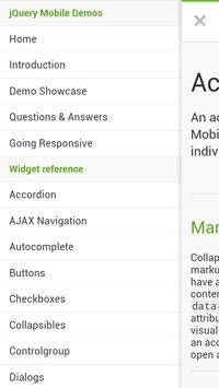 jQuery Mobile 1.3.2 API Docs apk screenshot
