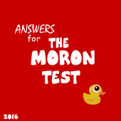 Answers for The Moron Test icon