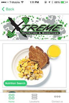 Xtreme Nutrition apk screenshot