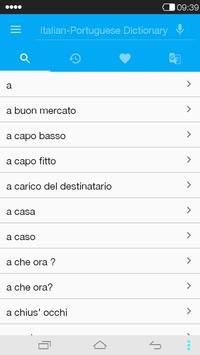 Italian-Portuguese Dictionary poster