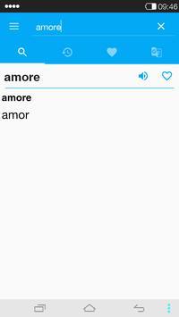 Italian-Portuguese Dictionary apk screenshot