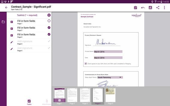 xyzmo Signature Capture apk screenshot
