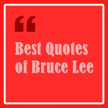 Best Quotes of Bruce Lee poster