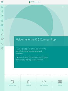 CIO Connect poster