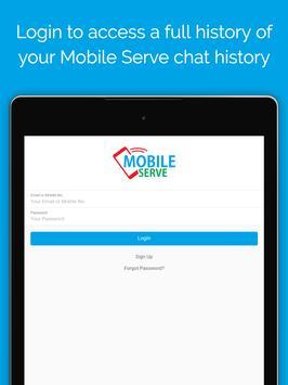 Mobile Serve apk screenshot