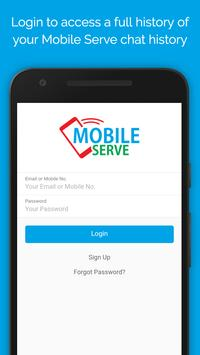 Mobile Serve poster