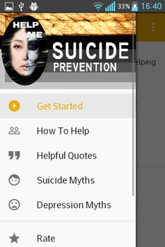 Suicide Prevention Help Squads poster