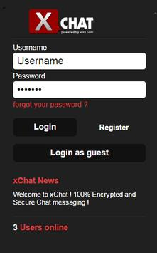 xChat Encrypted & Secure Chat apk screenshot