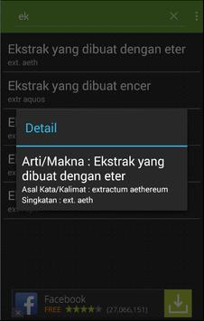 Kamus Singkatan Latin Farmasi apk screenshot