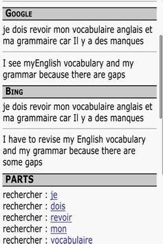 Mes dictionnaires free apk screenshot