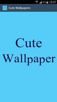 Latest Cute Wallpaper poster