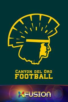 Canyon del Oro Football poster