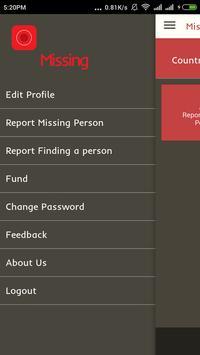 Missing Person's App apk screenshot