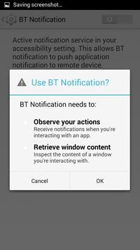 BTNotification apk screenshot