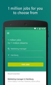 XING Jobs poster