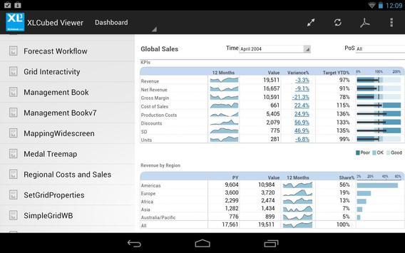 XLCubed Report Viewer apk screenshot