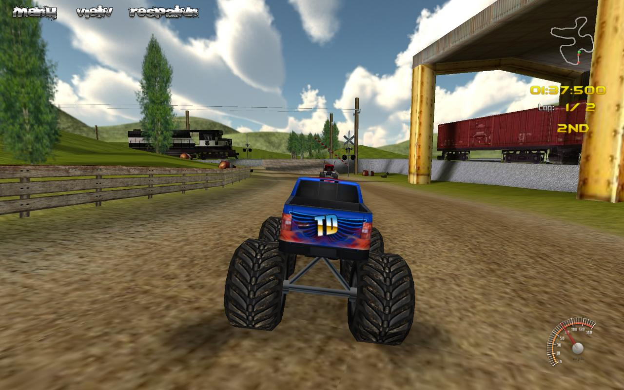 monster truck rally apk download free racing game for. Black Bedroom Furniture Sets. Home Design Ideas