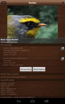 Bird Calls , Songs and Sounds apk screenshot