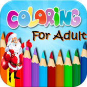 Christmas Coloring For Adults icon