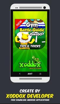 Gym Battle Guide Pokemon GO poster