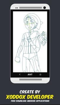 How to Draw Manga Anime apk screenshot