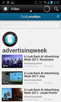 Advertising Week 2012 apk screenshot