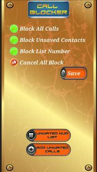 UC Call Blocker poster