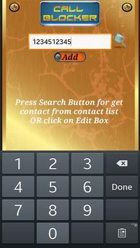 UC Call Blocker apk screenshot