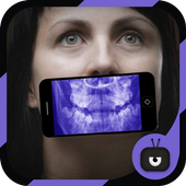 XRay  Scanner Teeth Simulated icon