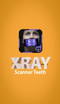 XRay  Scanner Teeth Simulated poster