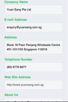 Yuan Sang Dried Food Products apk screenshot
