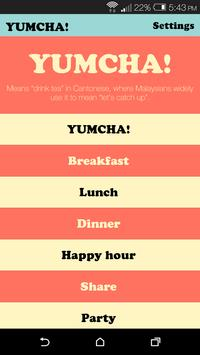 Yumcha: A Date Finder poster