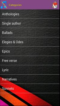 Poetry Audio Books apk screenshot