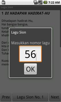 Lagu Sion apk screenshot