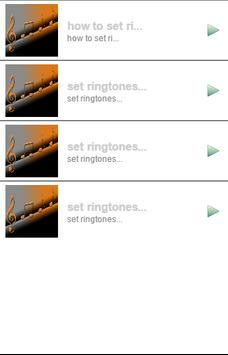 how to set ringtones poster