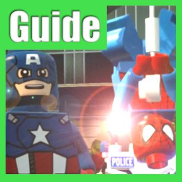 Guide LEGO Marvel Heroes poster