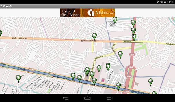 3BB/AIS WiFi Map apk screenshot