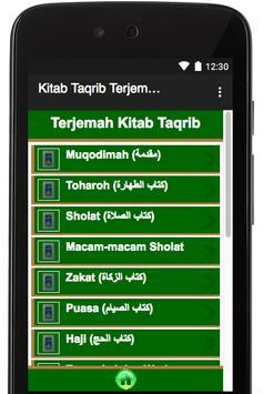 Kitab Taqrib Terjemah apk screenshot