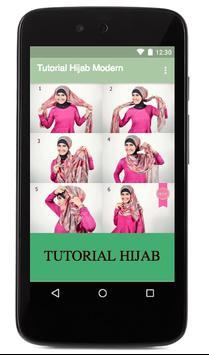 Tutorial Hijab Modern apk screenshot
