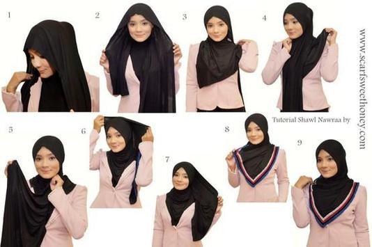 New Hijab Tutorials 2016 poster
