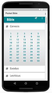 Pocket Bible apk screenshot
