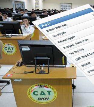 Simulasi CAT CPNS 2017 poster