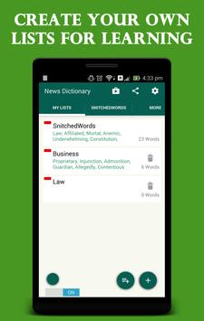 Quick Dictionary apk screenshot