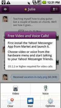 Yahoo Messenger Plug-in poster