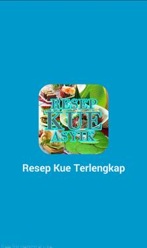 Resep Kue Basah Kering Cakesus poster