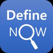 Define Now icon