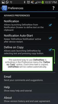 Define Now apk screenshot